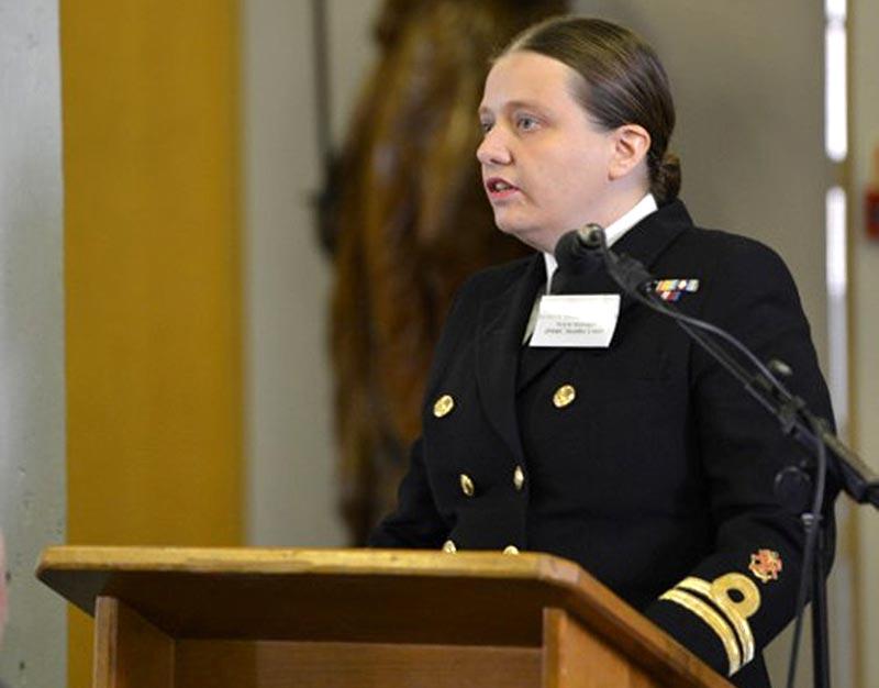 Lt Sarah Thompson, Guest Speaker